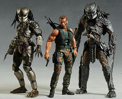 Predator action figures by NECA