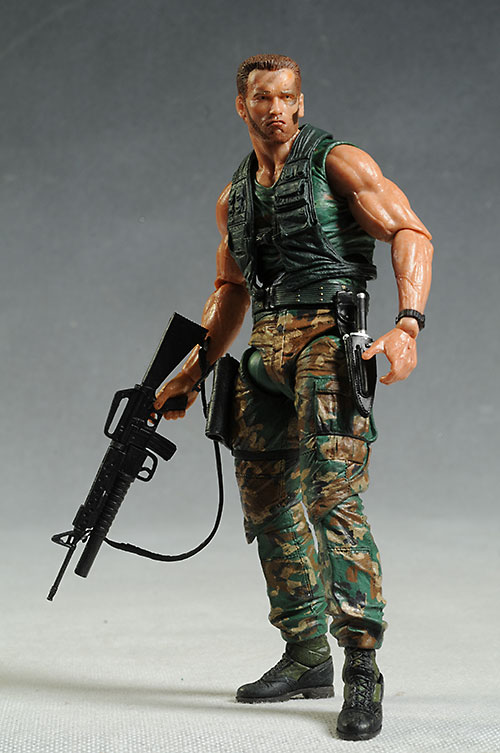 Jungle Patrol Dutch Predator action figure by NECA