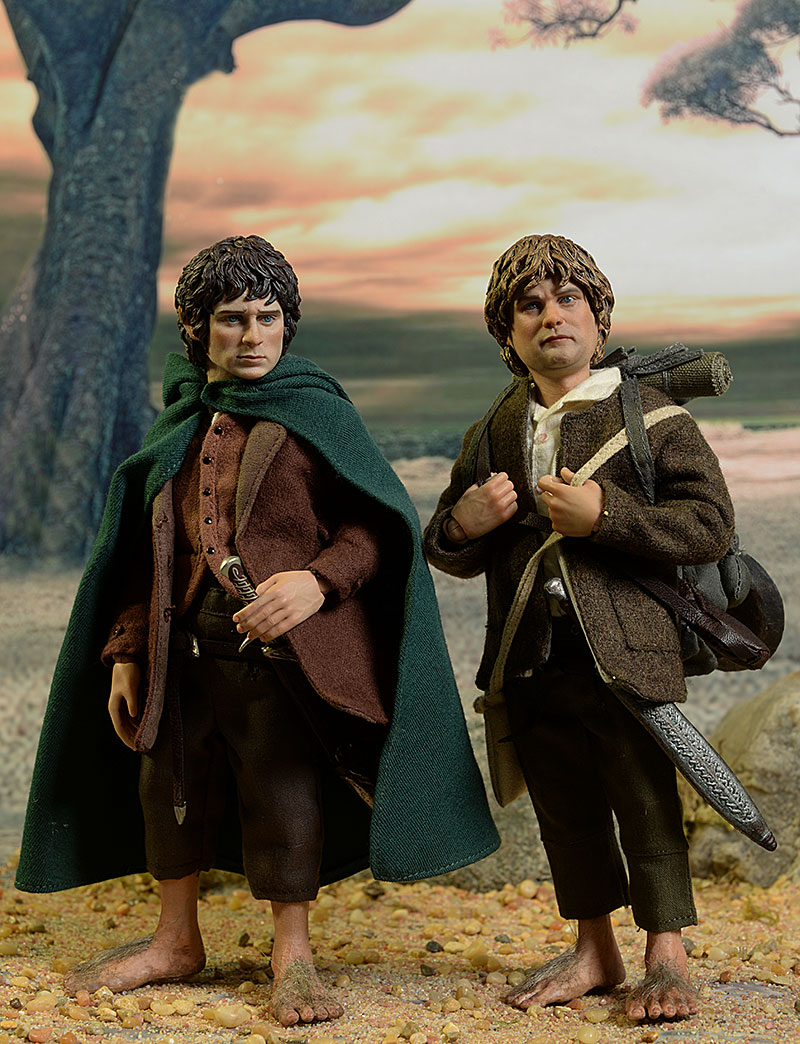 asmus the slim lotr products and sam frodo rings scale gamgee lord toys set baggins of figure samwise
