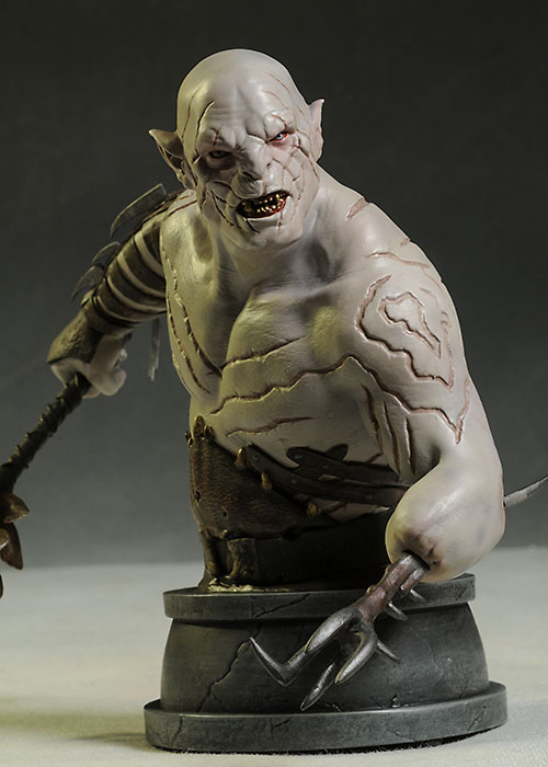 Hobbit LOTR Azog mini-bust by Gentle Giant