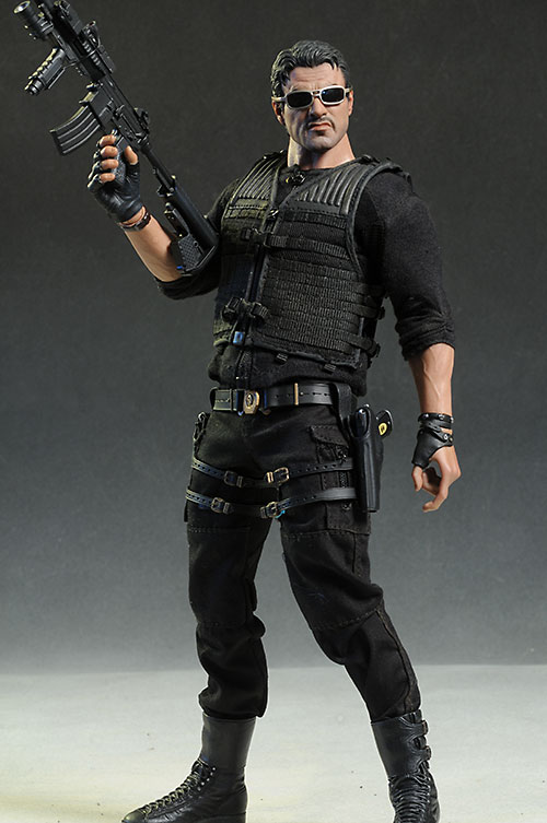 Barney Ross Expendables 2 sixth scale action figure by Hot Toys