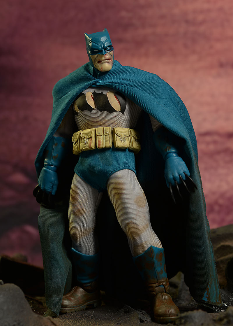 Batman, Mutant Leader DKR action figure set by Mezco Toyz