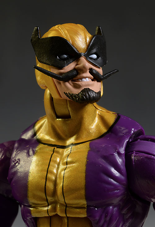 Marvel Legends Batroc, Captain America, Spider-Woman figures by Hasbro