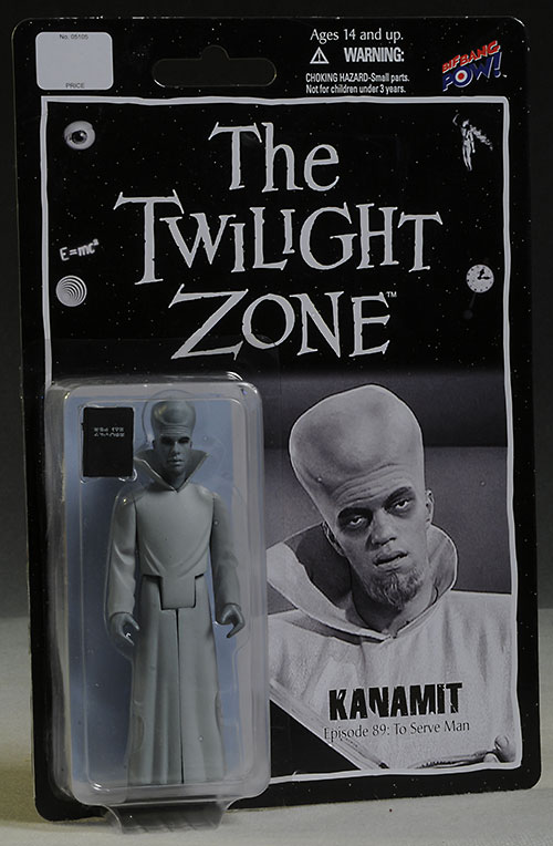 Twilight Zone action figures by BifBangPow