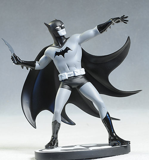 Batman Black & White Mike Allred statue by DC Collectibles