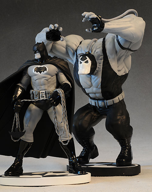Batman Black & White Bane statue by DC Collectibles