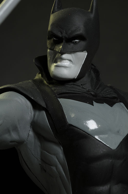 Batman Black & White Earth one and Earth 2 statues by DC Collectibles