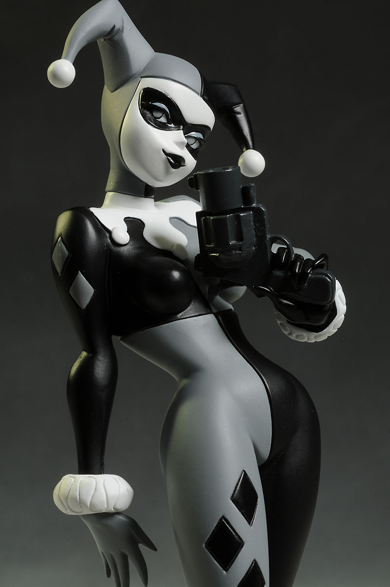 Batman Black and White Bruce Timm Harley Statue