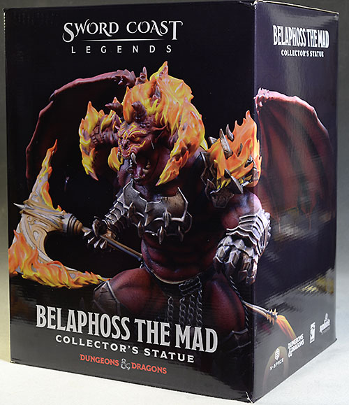 Dungeons and Dragons Belaphoss statue by Symbiote Studios