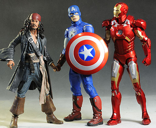 Captain America 1/4 scale action figure by NECA