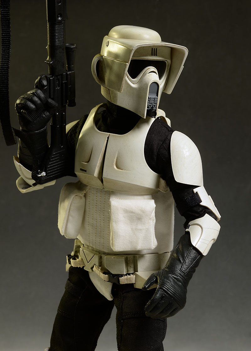 Star Wars Biker Scout action figure by Sideshow