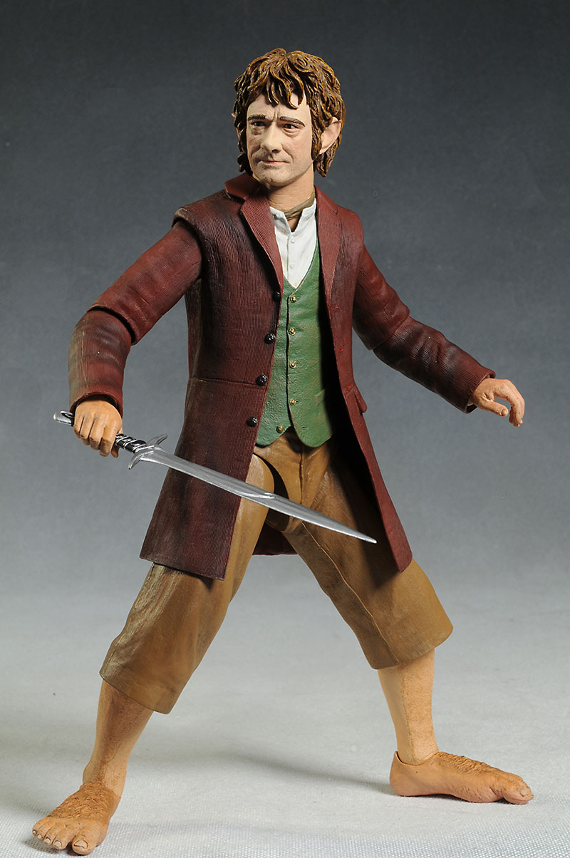 Bilbo Hobbit 1/4 scale action figure by NECA