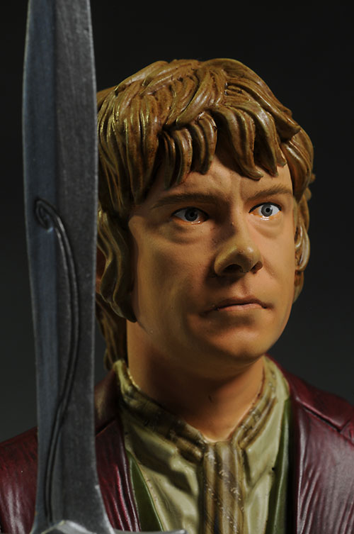 Bilbo Baggins Hobbit mini-bust by Gentle Giant