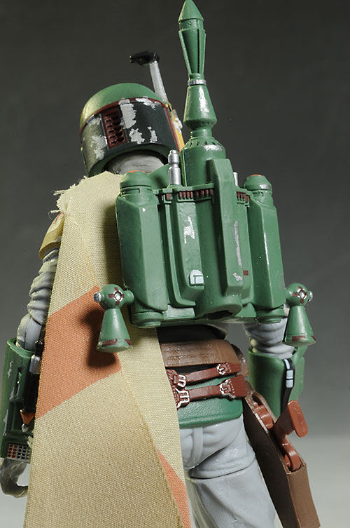 Boba Fett Star Wars Black action figure by Hasbro