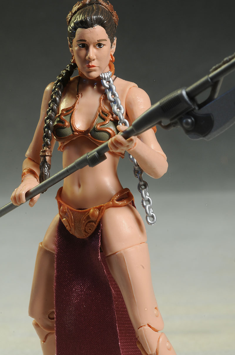Slave Leia Star Wars Black action figure by Hasbro