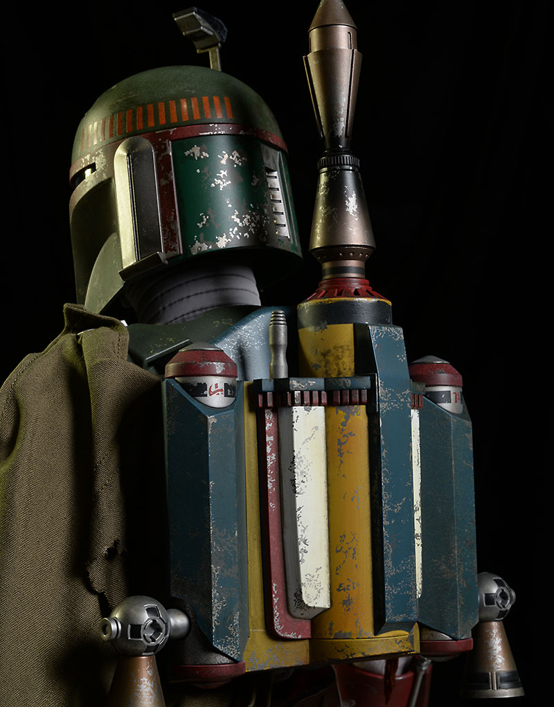 Star Wars Boba Fett QS003 1/4 scale action figure by Hot Toys