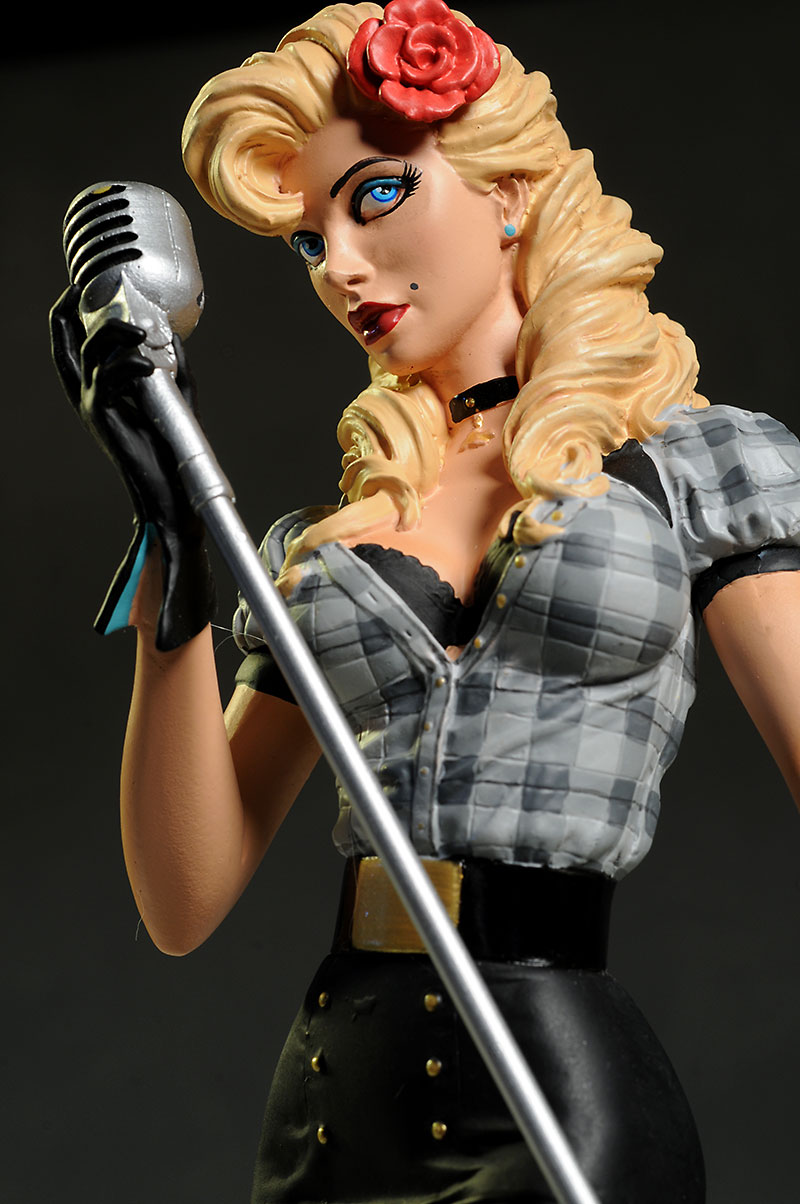 DC Bombshells Black Canary Statue by DC Collectibles