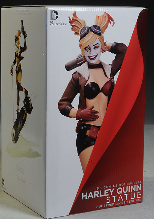 Harley Quinn DC Bombshells statue by DC Collectibles