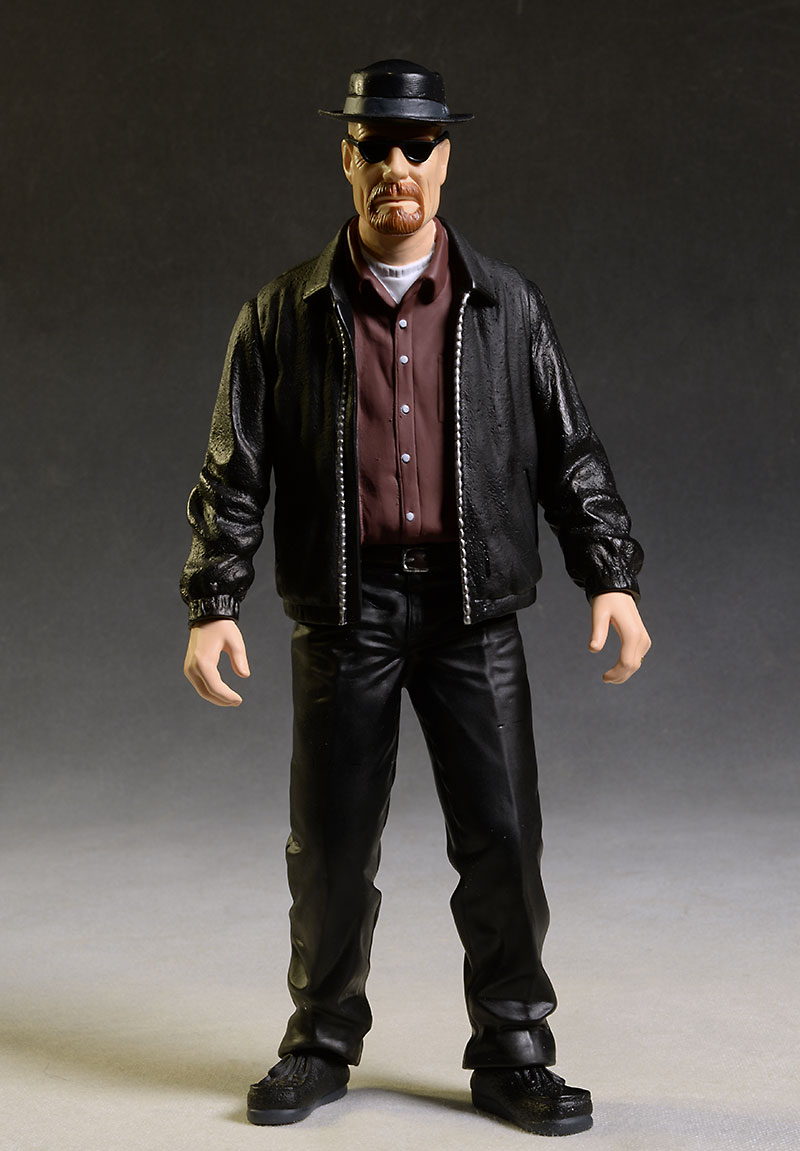 Breaking Bad Walter White/Heisenberg action figure from Mezco