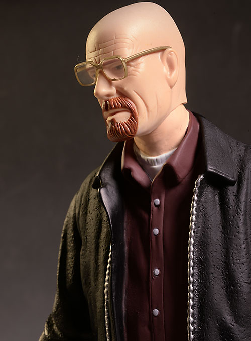 Breaking Bad Walter White action figure from Mezco