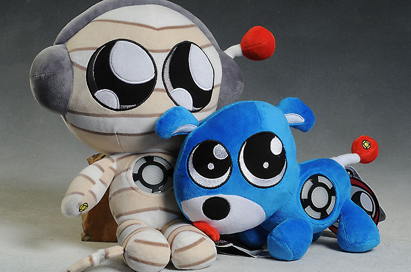 Brobo Dog and MuMu plush toy by Keji Toys