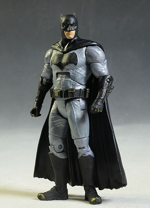 Batman vs Superman Batman figure comparison by Mattel