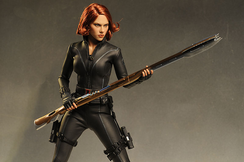 Avengers Black Widow sixth scale action figure from Hot Toys