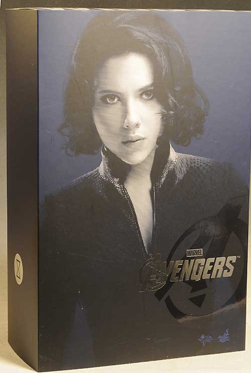 Black Widow Avengers sixth scale action figure by Hot Toys