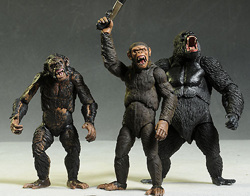 Dawn of the Planet of the Apes wave 2 action figures from NECA