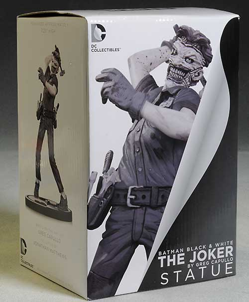 Joker Batman Black & White Greg Capullo statue by DC Collectibles