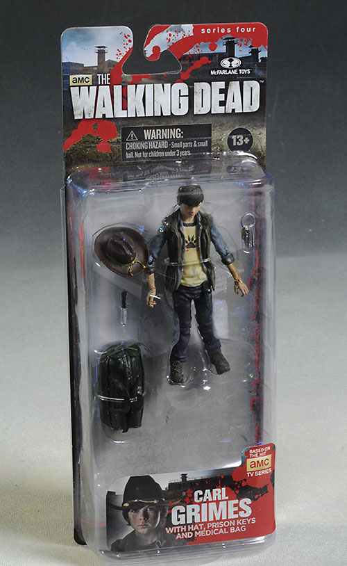 Carl Grimes Walking Dead action figure by McFarlane Toys