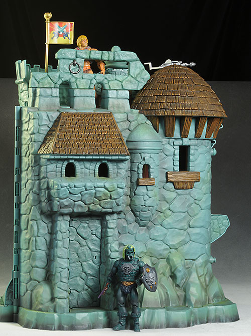 Castle Grayskull MOTUC action figure playset by Mattel