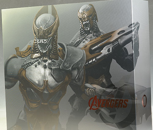 Avengers Chitauri Soldiers action figures by Hot Toys