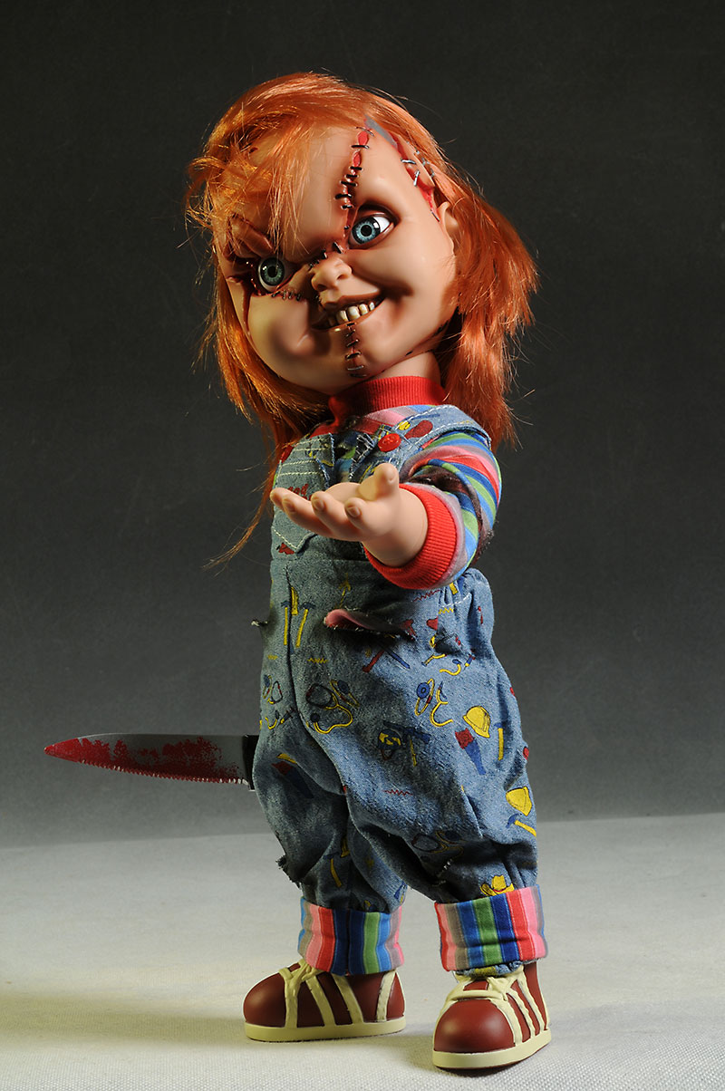 Chucky action figure from Mezco