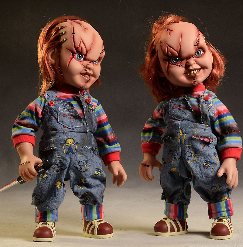 Talking Chucky Mega Scale action figure by Mezco