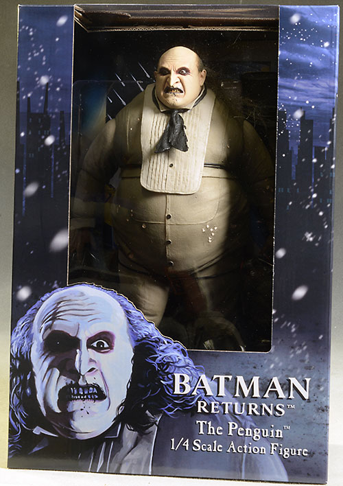 Batman Returns Penguin 1/4 scale action figure by NECA