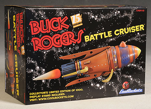 Buck Rogers Battle Cruiser by Cool Rockets