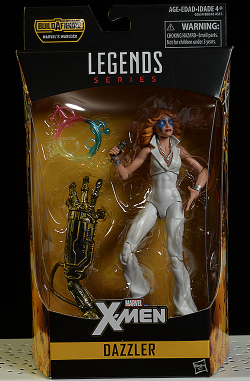 Marvel Legends Dazzler, Logan, Colossus action figure by Hasbro