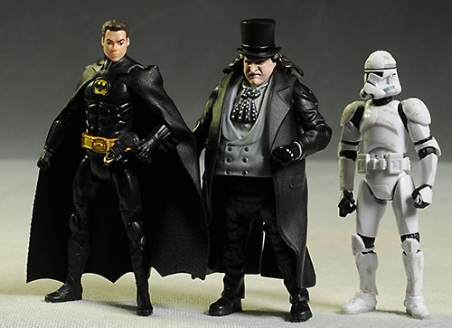 DC Multiverse 1989 Batman, Penguin action figures by Mattel