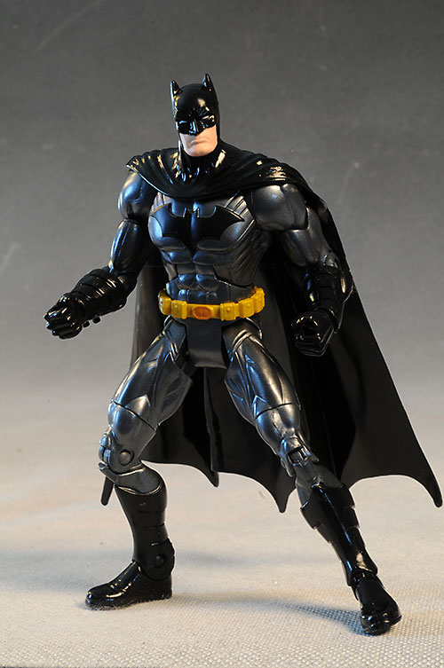 DC Unlimited Batman, Batgirl, Penguin figures by Mattel