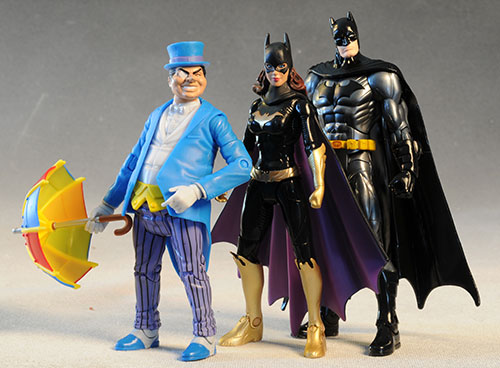 DC Batman Unlimited action figures by Mattel