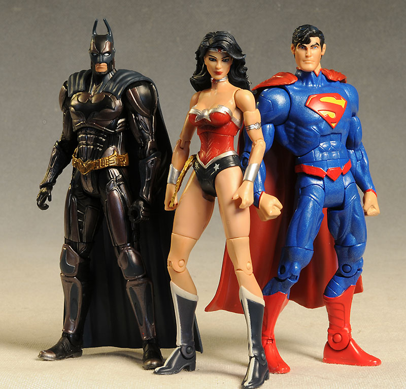 DC Unlimited action figures by Mattel