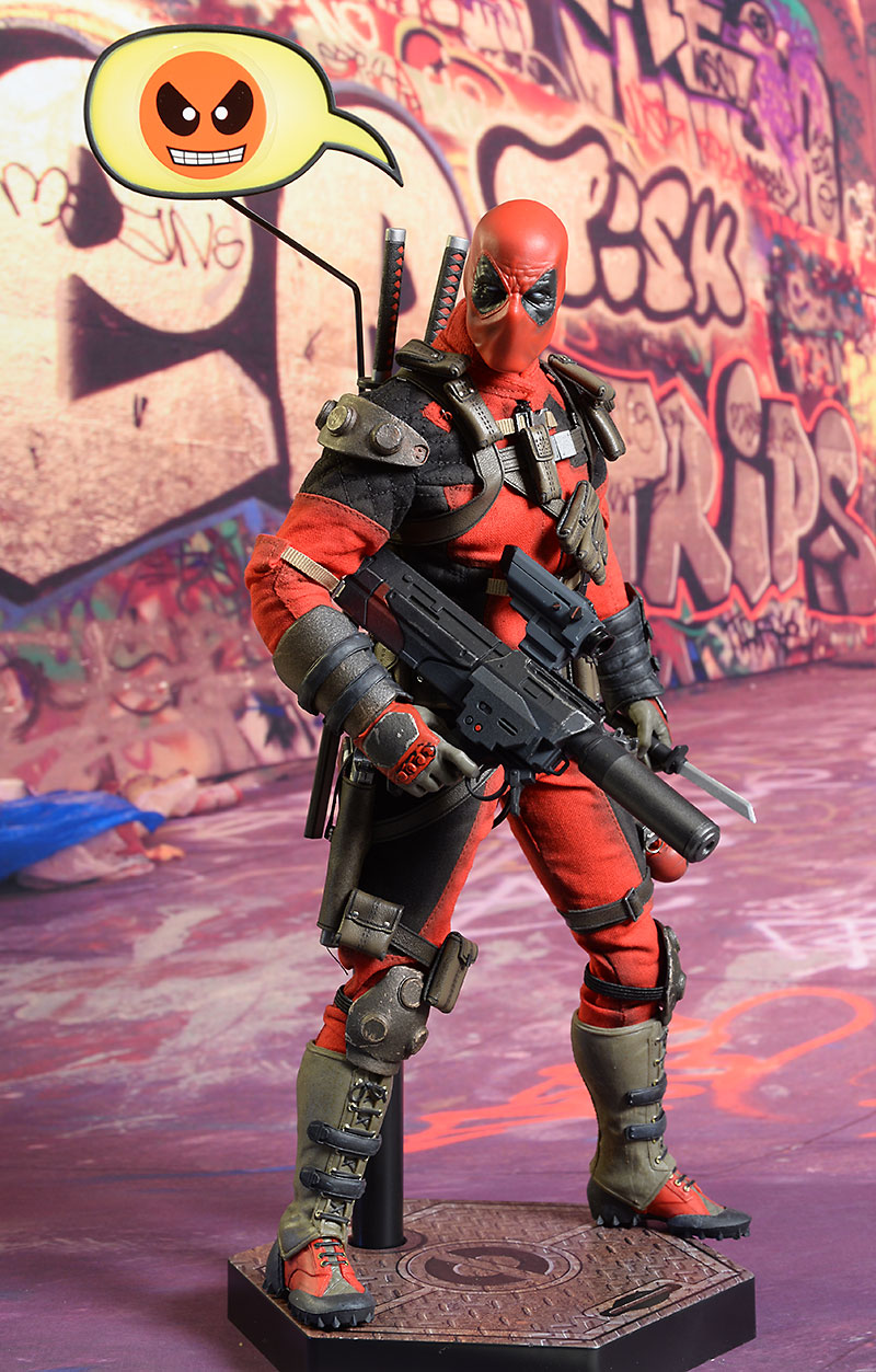 Deadpool sixth scale action figure by Sideshow