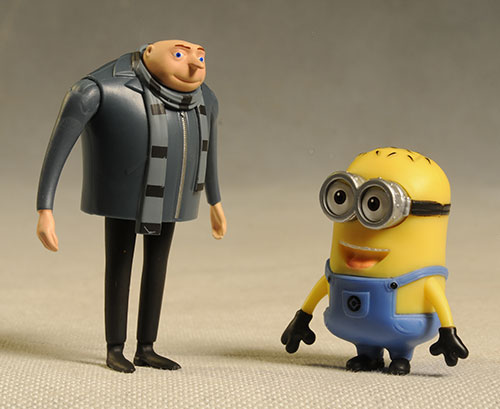 Despicable Me 2 pvc action figures by Thinkway Toys