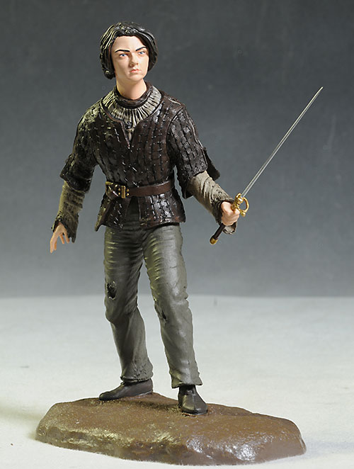 Game of Thrones Robb/Arya Stark action figures by Dark Horse