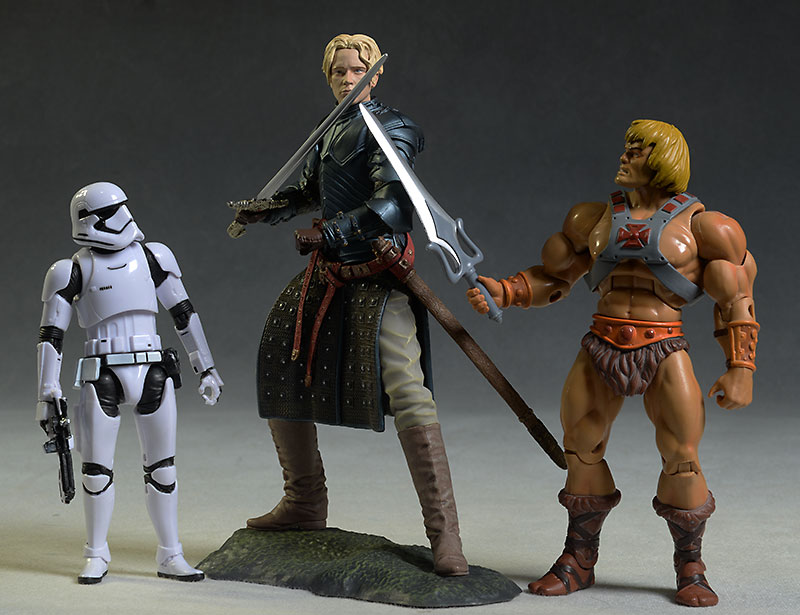 Game of Thrones Hound, Brienne figures by Dark Horse