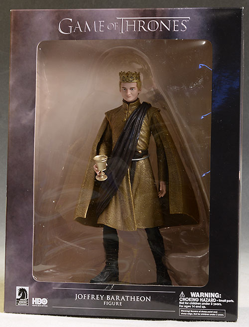 Game of Thrones Joffrey, Tywin, Petyr figures by Dark Horse
