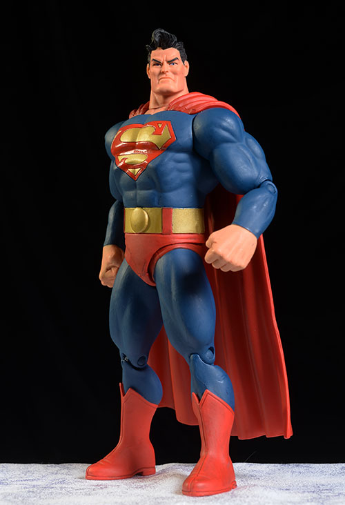 Dark Knight Returns Superman action figures by DC Collectibles