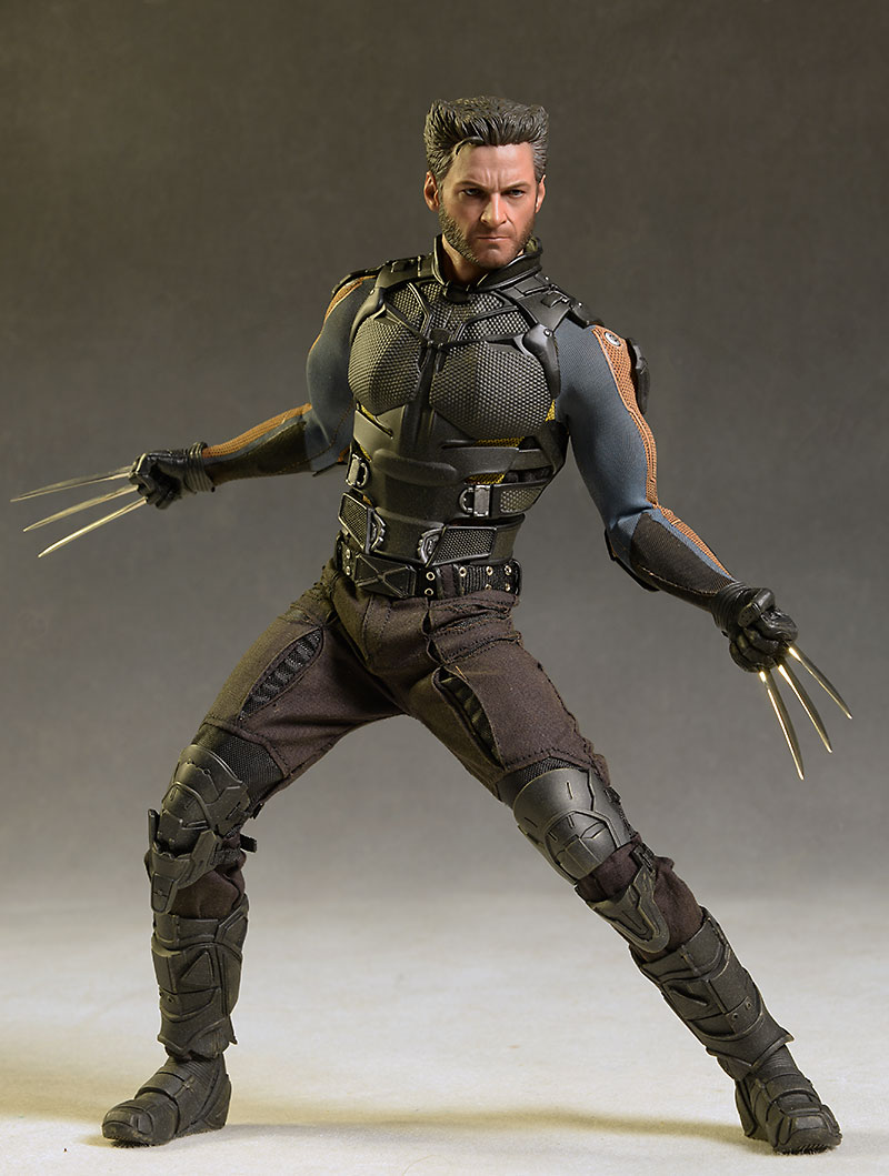 X-men DOFP Wolverine sixth scale action figure by Hot Toys