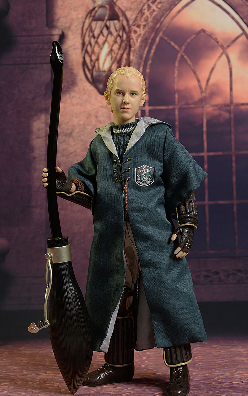 Harry Potter, Draco Malfoy Quidditch 1/6th action figures by Star Ace